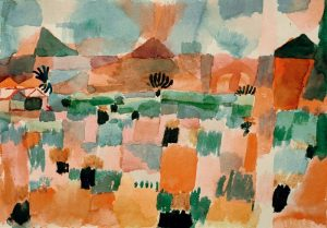 P.Klee / St.Germain near Tunis / 1914